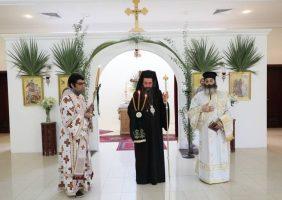 Ἡ Κυριακή τῶν Βαΐων εἰς τήν Ἱεράν Ἀρχιεπισκοπήν Καττάρων.