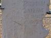 «Τhe Pontius Pilate\'s stone» Ἐπιγραφή πού ἀνακαλύφθηκε τό 1961 στό θέατρο τῆς Καισάρειας τῆς Παλαιστίνης. Ἀφιερωμένη ἀπό τόν Πιλάτο στόν Τιβέριο, γράφει: TIBERIEUMPONTIUSPILATUSPRAEFECTUSIUDAEAE