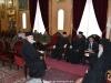 Ὁ Δήμαρχος & τά μέλη τῆς Ἀμπεντίγιε εἰς συνάντησιν μετά τοῦ Μακαριωτάτου.